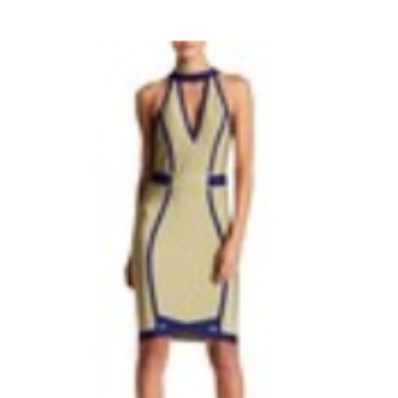 WOW couture Dresses & Skirts - Halter Contrast Trim Dress